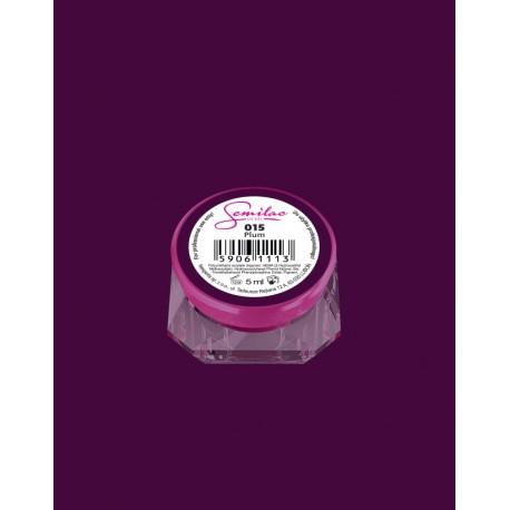 015 UV гель Semilac цвета plum