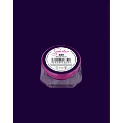 089 UV гель Semilac цвета Black Plum