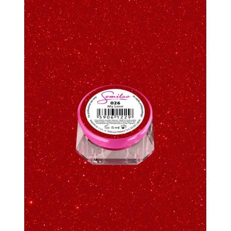 026 UV гель Semilac цвета my love