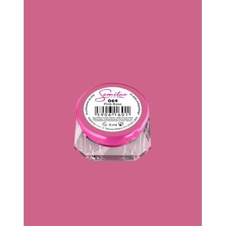 064 UV гель Semilac цвета pink rose
