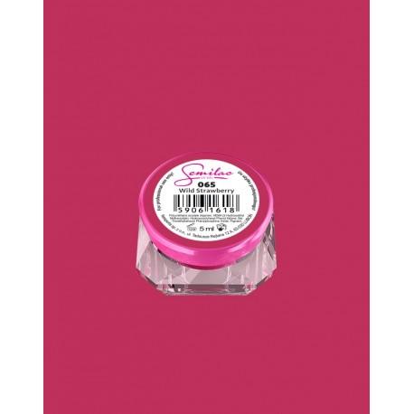 065 UV гель Semilac цвета wild strawberry