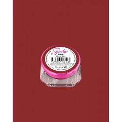 069 UV гель Semilac цвета Dirty Red