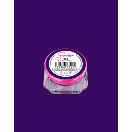 116 UV гель Semilac цвета blueberry-kiss