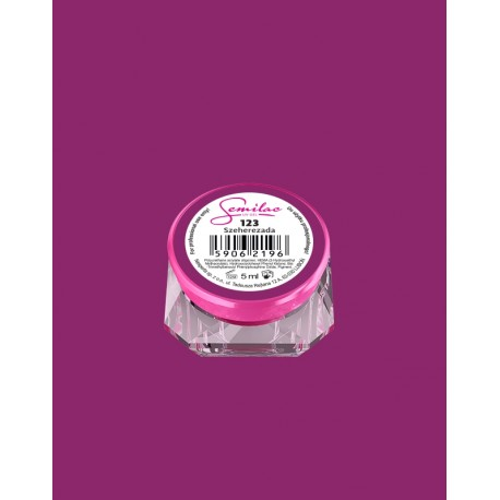 123 UV гель Semilac цвета szeherezada