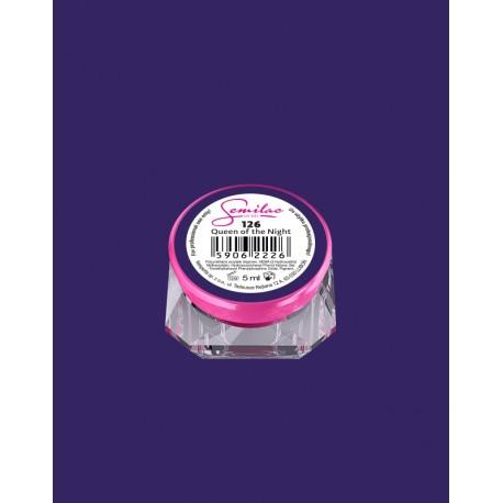 126 UV гель Semilac цвета-queen-of-the-night