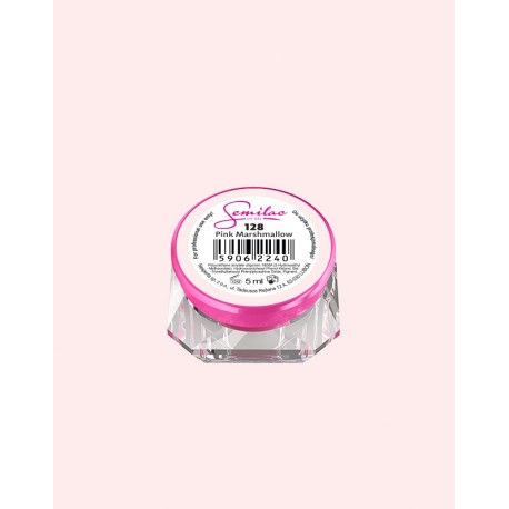 128-UV гель Semilac цвета pink-marshmallow