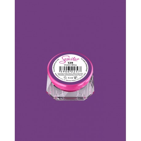 129-UV гель Semilac цвета violet-bliss