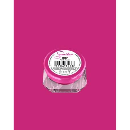 007 UV гель Semilac цвета pink rock