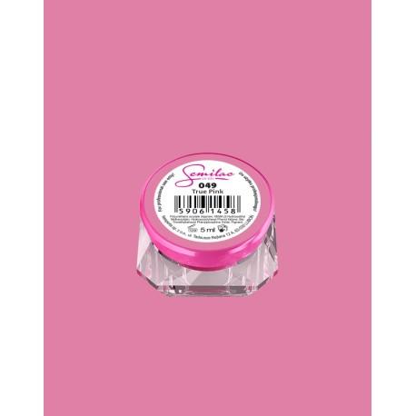 049 UV гель Semilac цвета true pink