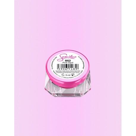 052 UV гель Semilac цвета pink opal