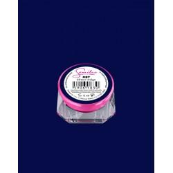 087 UV гель Semilac цвета Glitter Indigo