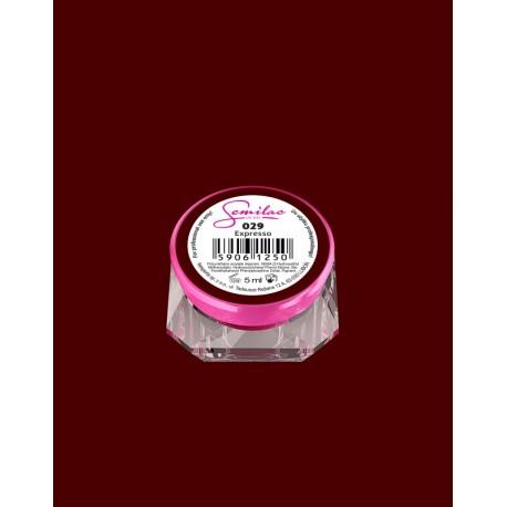 029 UV гель Semilac цвета espresso