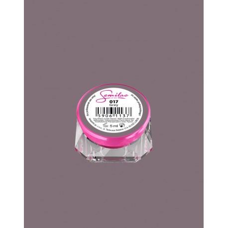 017 UV гель Semilac цвета grey