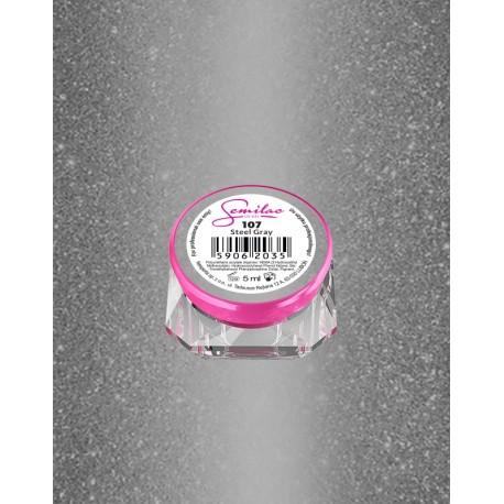 Гель Semilac® UV 107 steel gray