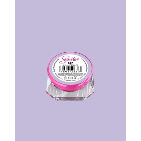 127 UV гель Semilac цвета violet-cream
