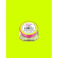 040 UV гель Semilac цвета canary green