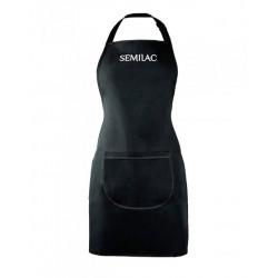 Фартук чёрный с белым логотипом Semilac®