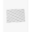 Матовая фирменная подложка Semilac® формат A4