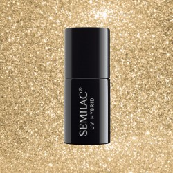 Гель-лак Semilac® 037 Gold Disco