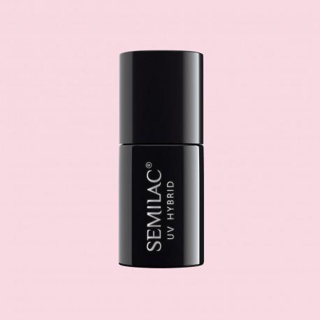 Гель-лак Semilac® 052 Pink Opal - TRANSPARENTNY