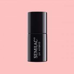 Гель-лак Semilac® 054 Pale Peach Glow - TRANSPARENTNY