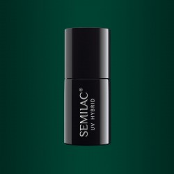 Гель-лак Semilac® 079 Dark Green Pearl