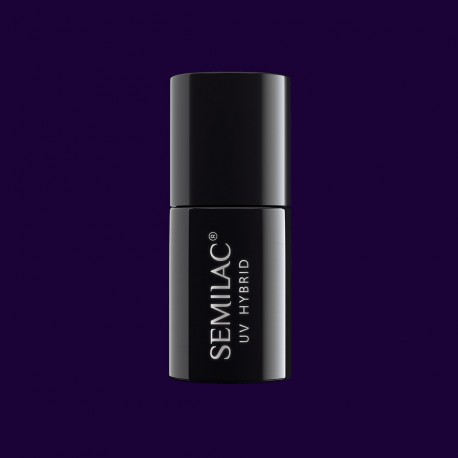 Гель-лак Semilac® 089 Black Plum