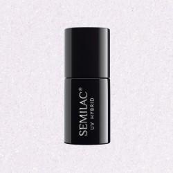 Гель-лак Semilac® 092 Shimmering White - TRANSPARENTNY