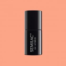 Гель-лак Semilac® 101 Juicy Peach - TRANSPARENTNY