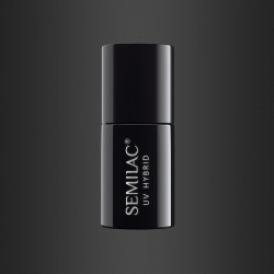 Гель-лак Semilac® 108 Metallic Black